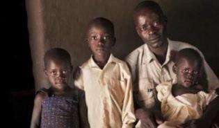 Uganda family picture
