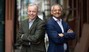 Professor Sir David Klenerman and Professor Sir Shankar Balasubramanian